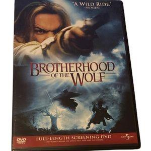 Brotherhood of the Wolf Full length Screening DVD